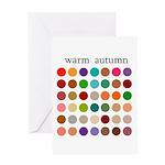 color analysis card warm autumn