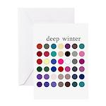 color analysis card deep winter