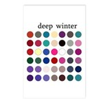 color analysis cards (Pack of 8) deep winter