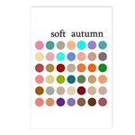 color analysis cards (Pack of 8) soft autumn