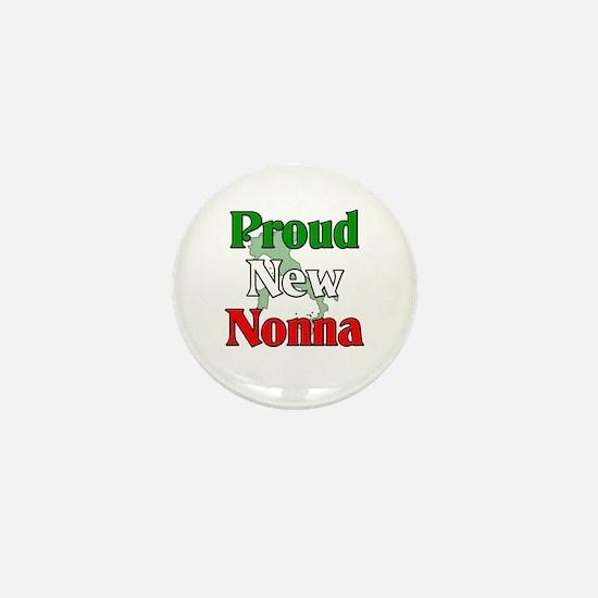 Proud New Nonna Mini Button