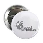 "RESPECT ANIMAL LOGO - 2.25"" Button (100 pack)"
