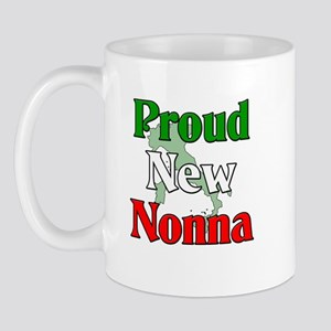 Proud New Nonna Mug