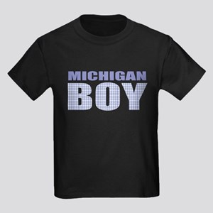 Michigan Boy Kids Dark T-Shirt