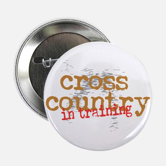 "Cross Country Training 2.25"" Button"
