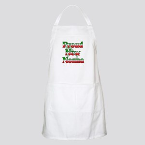 Proud New Nonna BBQ Apron