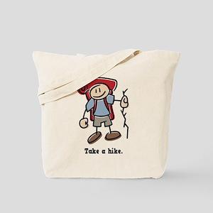 Cute Take a Hike Tote Bag