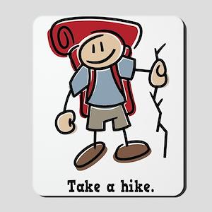 Cute Take a Hike Mousepad