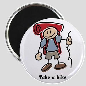 Cute Take a Hike Magnet