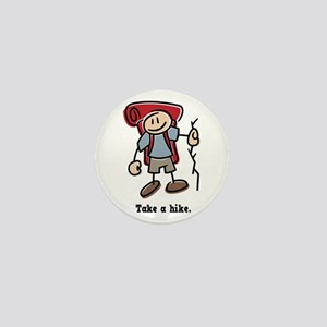 Cute Take a Hike Mini Button