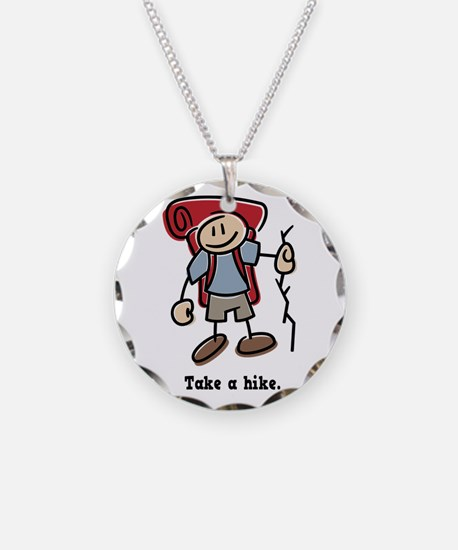Cute Take a Hike Necklace