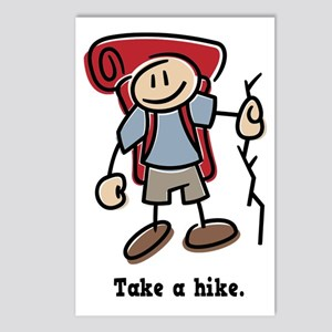 Cute Take a Hike Postcards (Package of 8)