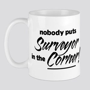 Surveyor Nobody Corner Mug