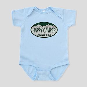 Happy Camper Colo License Plate Infant Bodysuit