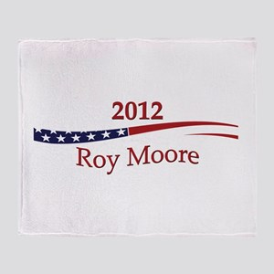 Roy Moore Throw Blanket