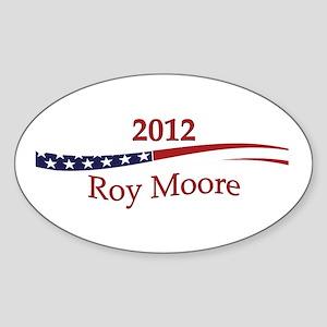Roy Moore Sticker (Oval)