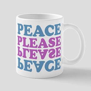 peace please (blue/pink) Mug