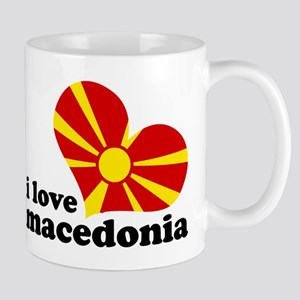 i love macedonia Mug
