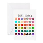 color analysis card light spring