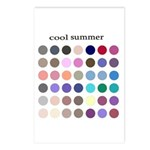 color analysis cards (Pack of 8) cool summer