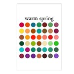 color analysis cards (Pack of 8) warm spring
