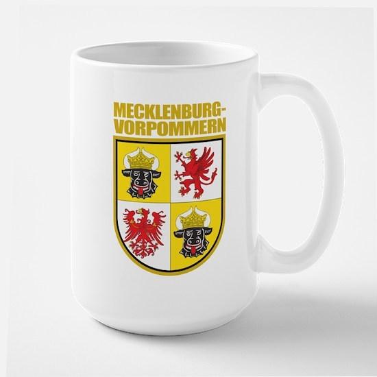 Mecklenburg-Vorpommern COA Large Mug