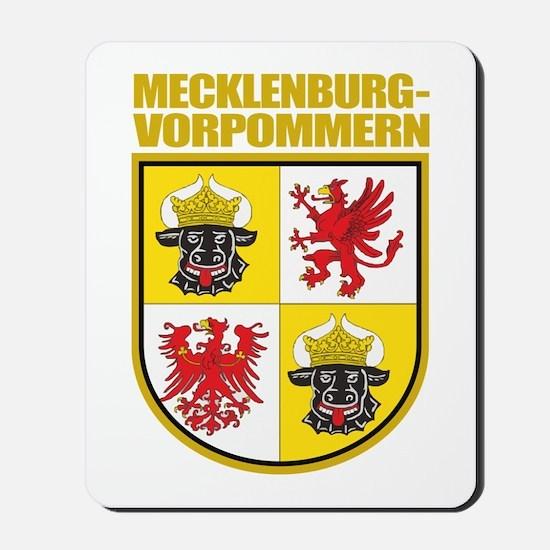 Mecklenburg-Vorpommern COA Mousepad