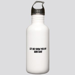 Arm Bar Stainless Water Bottle 1.0L