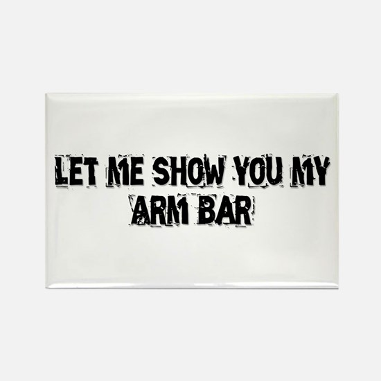 Arm Bar Rectangle Magnet