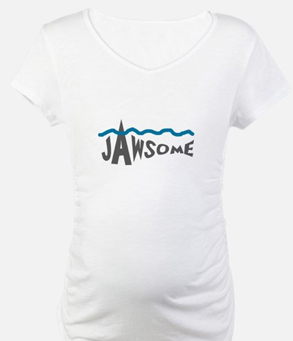 Jawsome Word Shark Shirt