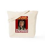 Bush - Crowned by Diebold Tote Bag