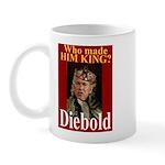 Bush - Crowned by Diebold Mug