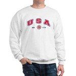 USA Firefighter Sweatshirt