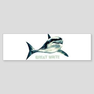 Great White Sticker (Bumper)