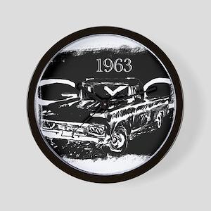 1963 GMC Wall Clock