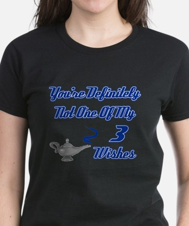 3 Wishes Women's Dark T-Shirt