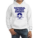 National Apathy Society Hooded Sweatshirt