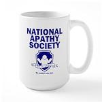 National Apathy Society Large Mug