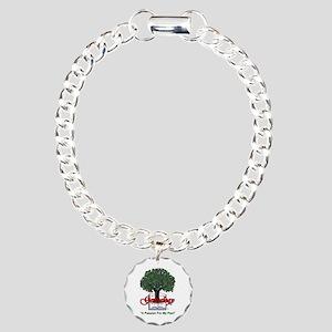Genealogy Charm Bracelet, One Charm