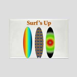 Surf's Up Rectangle Magnet