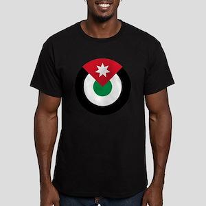 Jordan Roundel Men's Fitted T-Shirt (dark)