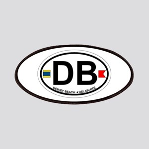 Dewey Beach DE - Oval Design Patches