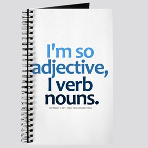 I'm So Adjective Journal