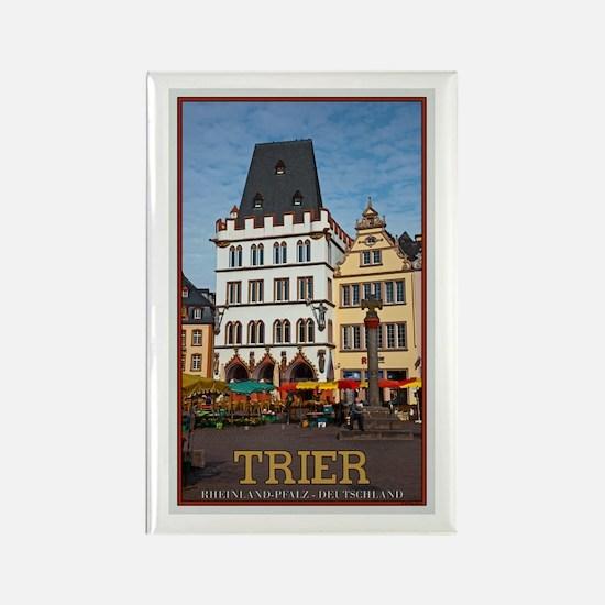 Trier Cross Monument Rectangle Magnet