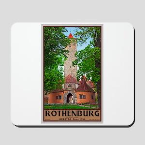 Rothenburg Burgtor Mousepad