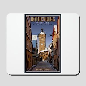 Rothenburg Klingentor W Mousepad