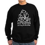 A.D.O.P.T. Pet Shelter Sweatshirt (dark)