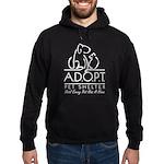 A.D.O.P.T. Pet Shelter Hoodie (dark)