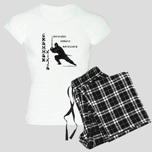"""""""Grammar Ninja"""" Women's Light Pajamas"""
