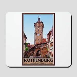 Rothenburg Klingentor Mousepad